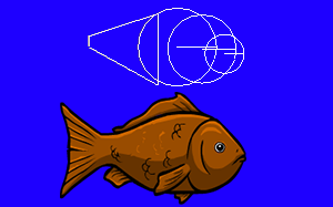 fish and wireframe